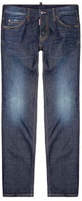 DSQUARED2 Dean Distressed Straight Leg Jeans