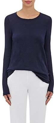 ATM Anthony Thomas Melillo Women's Raw-Edge Cotton T-Shirt $115 thestylecure.com