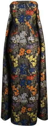 Zac Posen Indie metallic gown