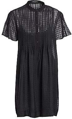 Rag & Bone Women's Check Print Shirtdress
