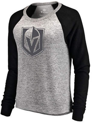 f5e65b29c Majestic Women Vegas Golden Knights Cozy Crew Neck Sweatshirt