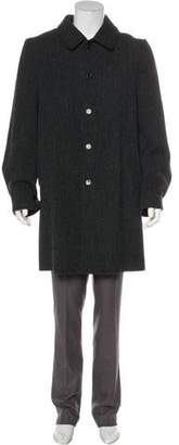 Ann Demeulemeester Maxwell Anthracite Wool Coat