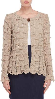 Lamberto Losani Open Knit Cardigan