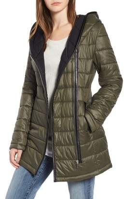 Sam Edelman Asymmetric Quilted Jacket