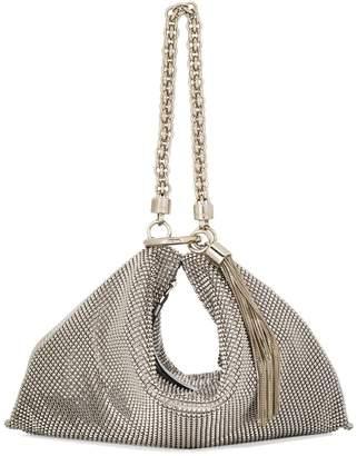 Jimmy Choo Callie mesh clutch