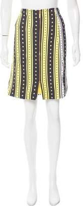 Ungaro Polka Dot Knee-Length Skirt