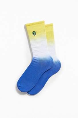 Urban Outfitters Alien Tie-Dye Sock
