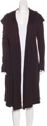 Alexander Wang Hooded Open Cardigan
