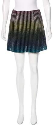 Marco De Vincenzo Embellished Mini Skirt