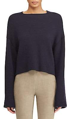 Ralph Lauren Women's Cashmere Cropped Sweater
