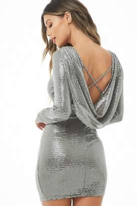 Forever 21 Metallic Bodycon Dress