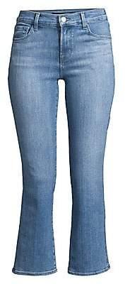 J Brand Women's Selena Mid-Rise Cropped Jeans