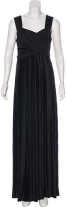 The Row Pleated Maxi Dress