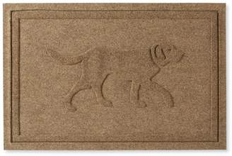 L.L. Bean L.L.Bean Waterhog Doormat, Dog