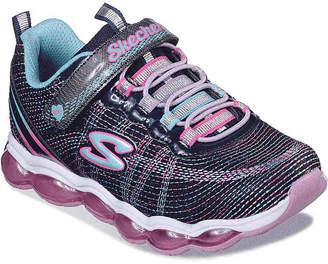 Skechers S-Lites Air Lites Toddler & Youth Light-Up Sneaker - Girl's