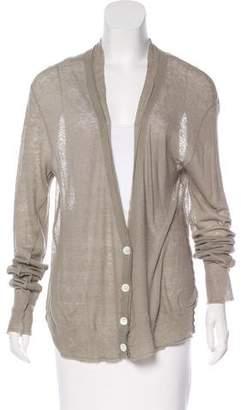 Inhabit Long Sleeve Knit Cardigan