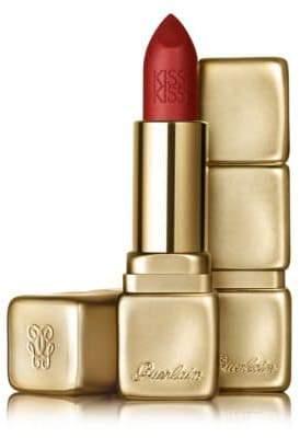 Guerlain KissKiss Matte Lipstick/0.12 oz.