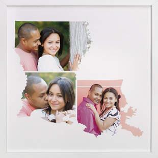 Louisiana Love Location Custom Photo Art Print