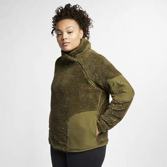 Nike Women's Long-Sleeve Pullover Training Top (Plus Size)