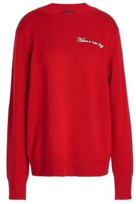 Rag & Bone Vicky Embroidered Merino Wool-Blend Sweater