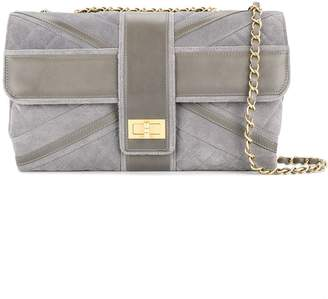 Chanel Pre-Owned double chain shoulder bag