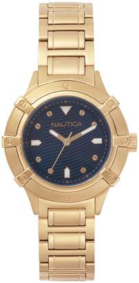 Nautica Men's 'CAPRI' Quartz Stainless Steel Casual Watch, Color: (Model: NAPCPR005)