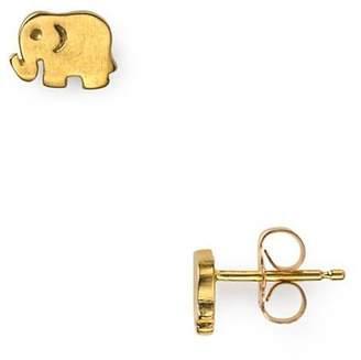 Dogeared Elephant Stud Earrings