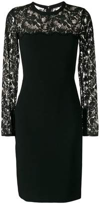 Stella McCartney lace fitted dress