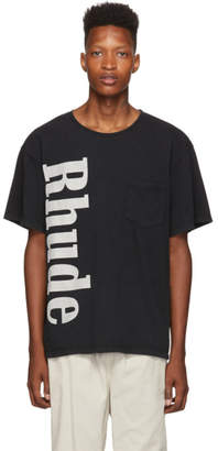 Rhude Black Pocket T-Shirt