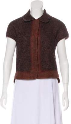 Magaschoni Wool Button Up Vest