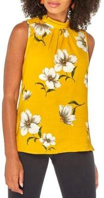 Dorothy Perkins Floral Sleeveless Tie-Back Top