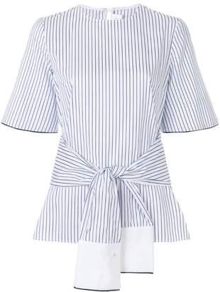 Victoria Beckham Victoria striped wrap blouse