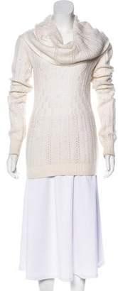 Stella McCartney Long Sleeve Wool & Cashmere-Blend Sweater