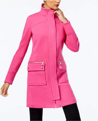 INC International Concepts I.n.c. Stand-Collar Knit Coat