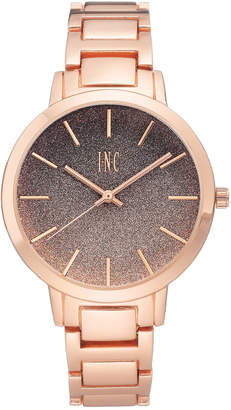 INC International Concepts I.N.C. Women's Rose Gold-Tone Bracelet Watch 38mm, Created For Macy's