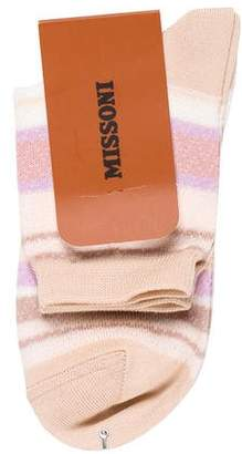 Missoni Striped Knit Sock w/ Tags