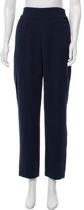 Jonathan Simkhai High-Rise Skinny-Leg Pants