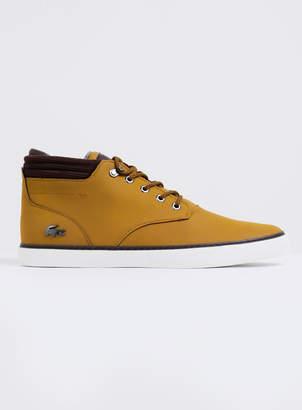 fea992e8c2b145 Lacoste Mens Esparre Winter C 318 3 Shoes in Tan Dark Brown