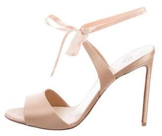 Francesco Russo Lace-Up Satin Sandals w/ Tags