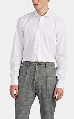 Eleventy Men's Cotton Poplin Shirt - White