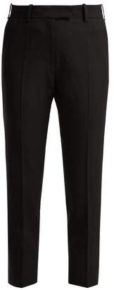 Racil - Aries High Rise Wool Trousers - Womens - Black