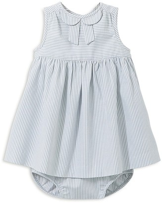 Jacadi Girls' Striped Poplin Dress and Bloomer Set - Baby $69 thestylecure.com
