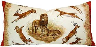 One Kings Lane Vintage Hermès Robert Dallet Safari Kenya Pillow