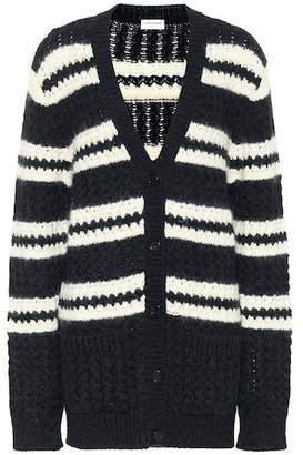 Saint Laurent Wool, mohair and alpaca cardigan