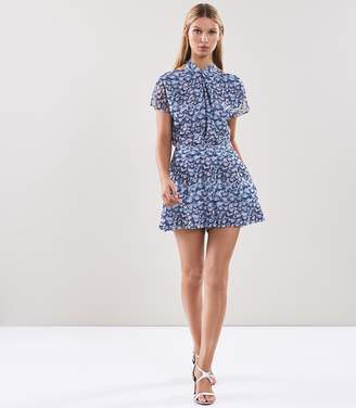Reiss Loreta Ditsy Print Playsuit