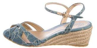 Gucci GG Denim Sandals