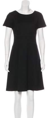 Prada Sport Virgin Wool Knee-Length Dress