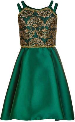 Bonnie Jean Big Girls Double-Strap Sequin Dress