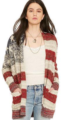 Ralph Lauren Denim & Supply Stars-and-Stripes Cardigan $225 thestylecure.com