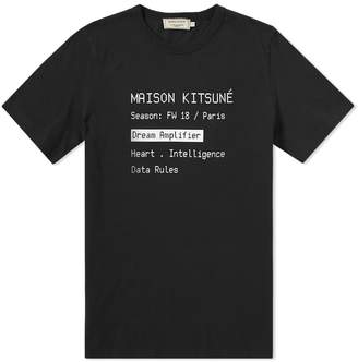MAISON KITSUNÉ Code Tee